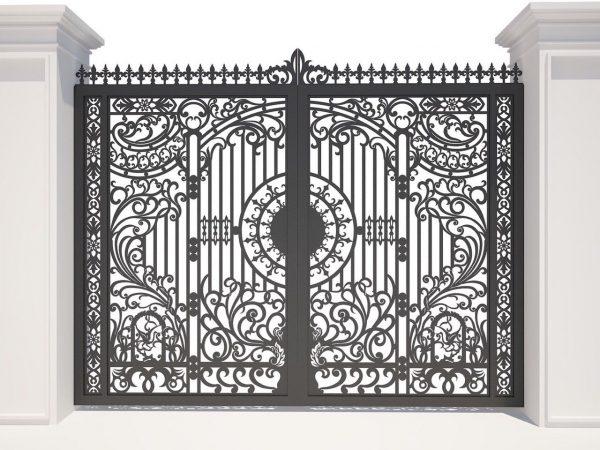mẫu cổng sắt cnc đẹp 6