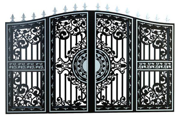 cổng CNC 4 cánh đẹp 7