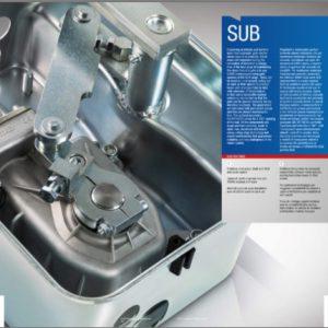 Motor Quiko SUB 220 chịu được tải trọng lớn, vận hành êm ái
